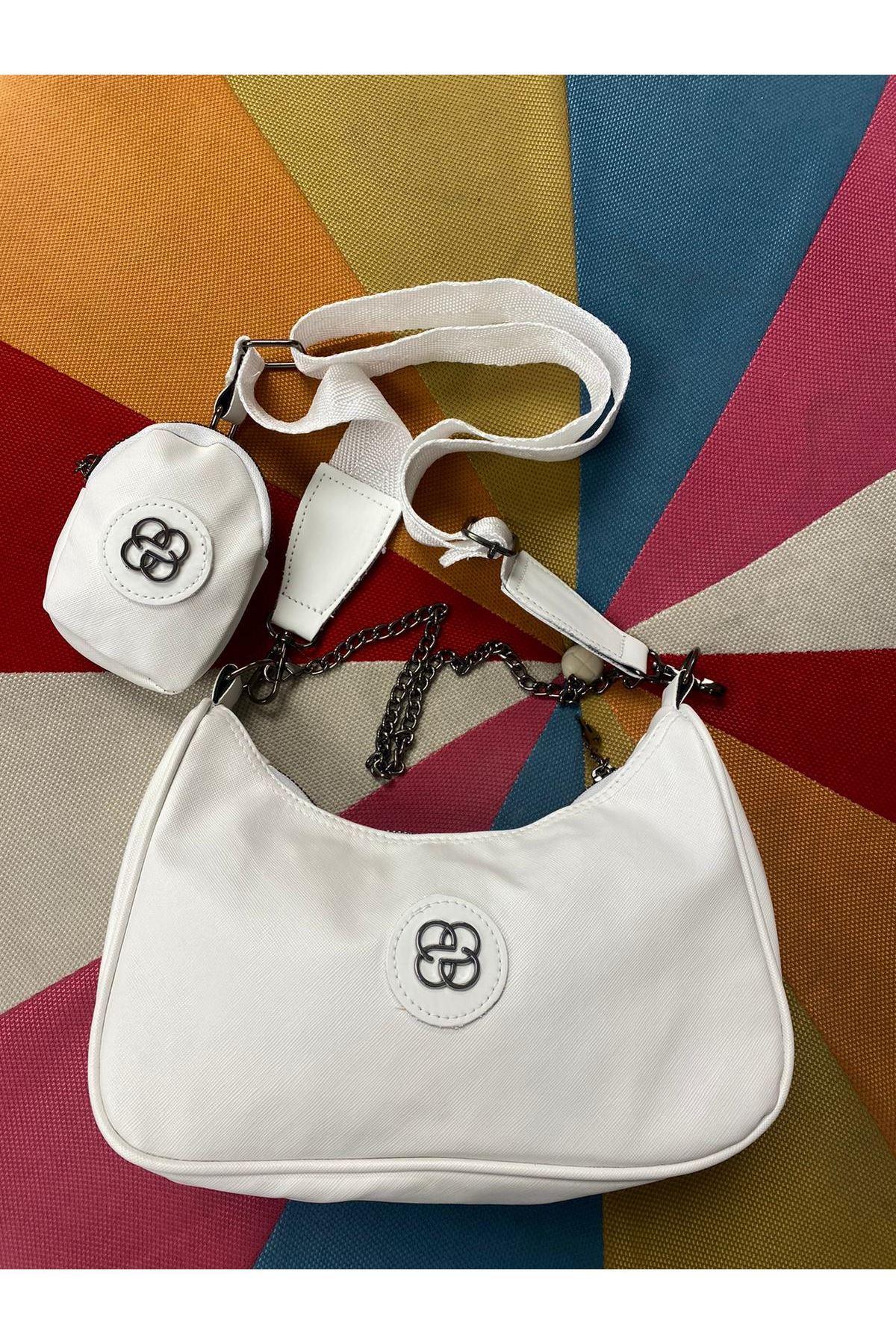 New Fashion Çanta- Beyaz